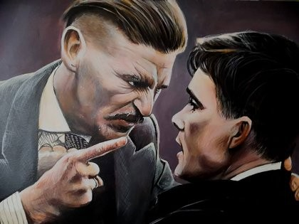 Peaky Blinders by Barry Wearing